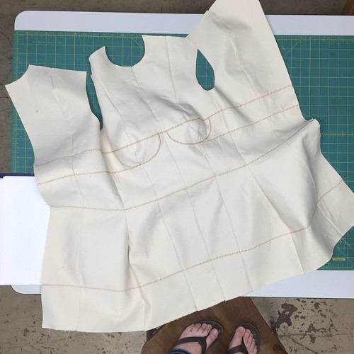 Bootstrap Dress Form: Constructing The Shell