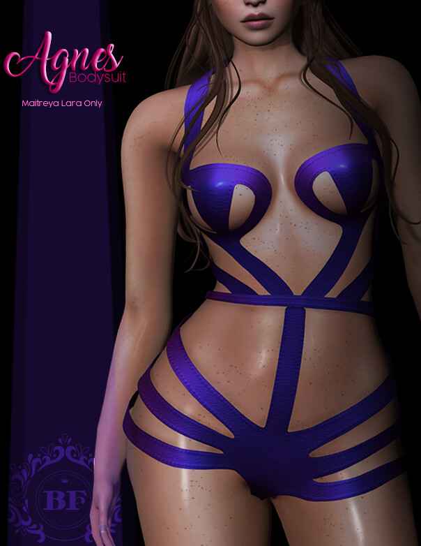 .BF. Agnes Bodysuit at The coven - SecondLifeHub.com