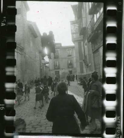 Toledo en abril de 1952 por Robert Frank © Robert Frank
