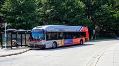 WMATA Metrobus 2009 New Flyer DE40LFA #6370