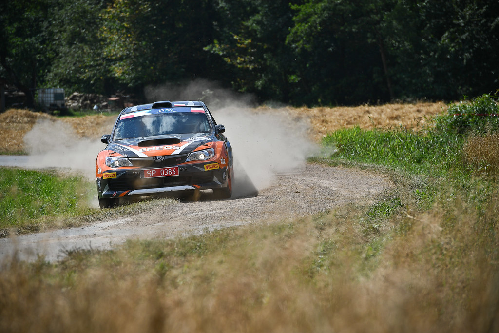 28 SLOBODZIAN Marcin (POL) WRO«BEL Jakub (POL) Subaru Impreza STI action during the 2017 European Rally Championship Rally Rzeszowski in Poland from August 4 to 6 - Photo Wilfried Marcon / DPPI