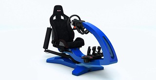 ImSim Motion Simulator Blue