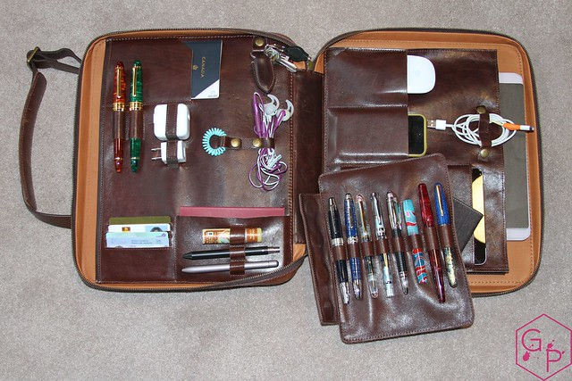 Review @SatchelandPage Port Series - Daily Carry Mobile Office 3