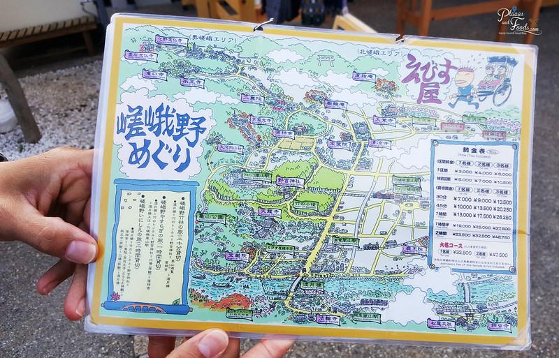 Arashiyama Rickshaw Tour price list