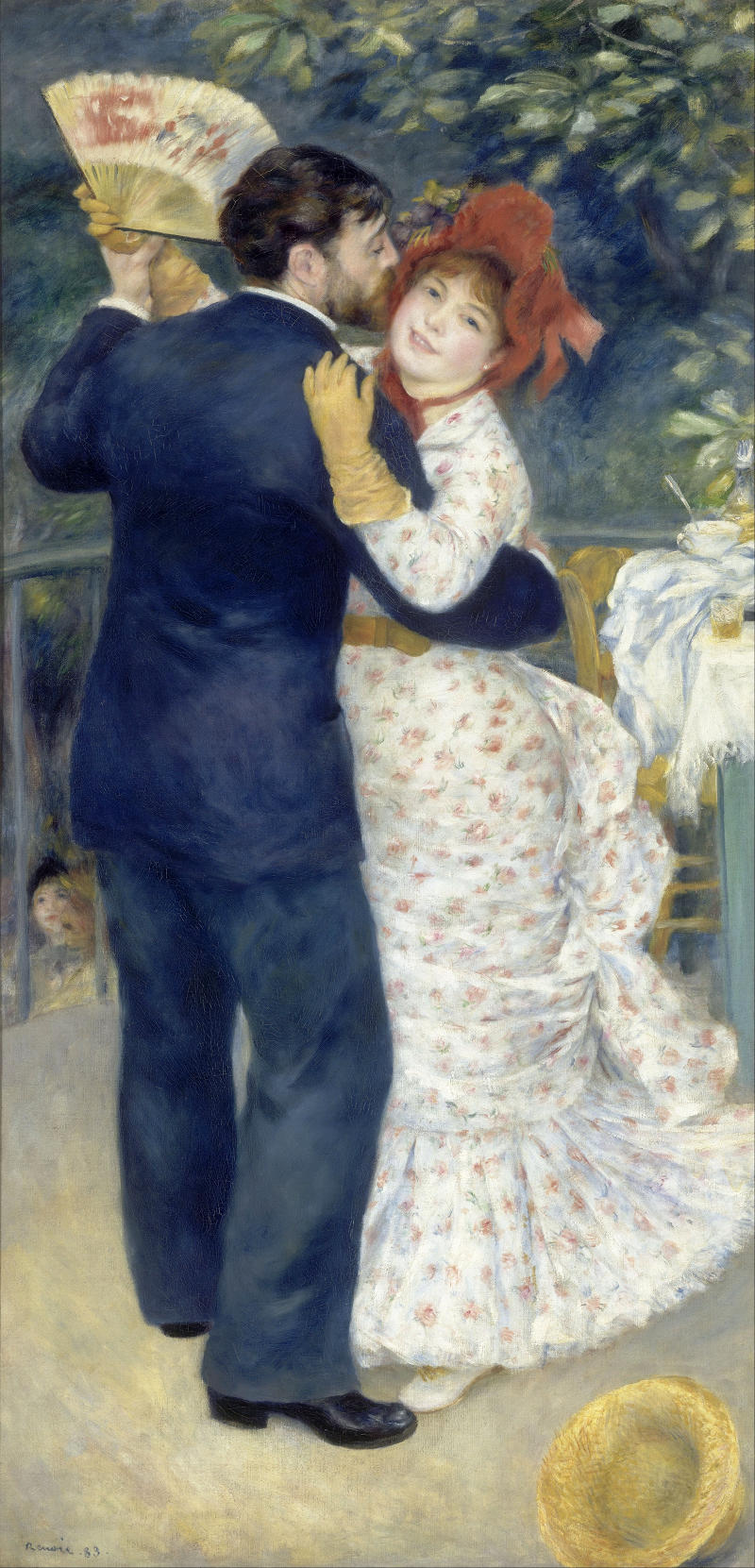 Country Dance by Pierre Auguste Renoir, 1883