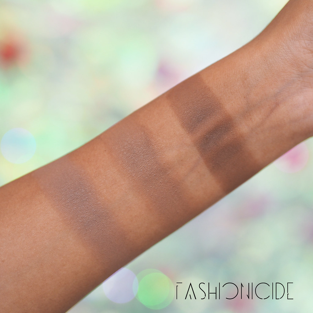 Kat Von D Shade Light Contour Swatches