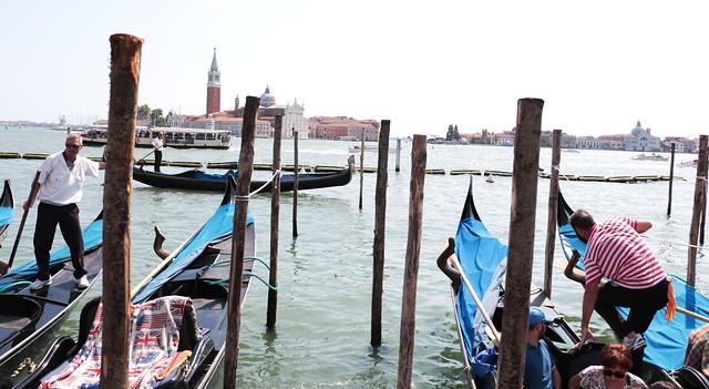 gondolieri venezia