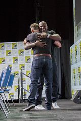 David Ayer and Terry Crews
