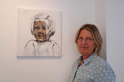 Margaretha Jansson med Handcoloured