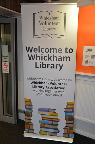 Whickham Volunteer Library July 17 5