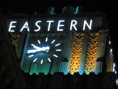 Eastern Clock (1018)