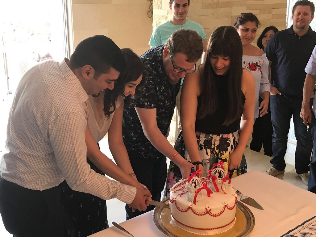 Jordan 2017 - cutting the cake