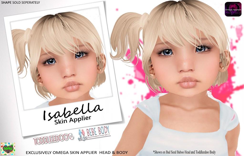 **DoRks** Isabella Skin @ SHOP HOP - SecondLifeHub.com