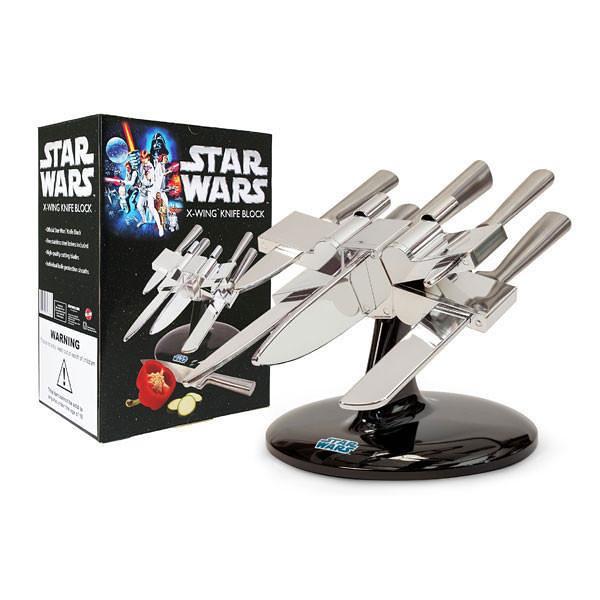 切個菜也充滿鬥志?!The Fowndry 星際大戰【X 翼戰機刀架組】Star Wars X-Wing Knife Block