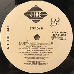 STEADY B:SERIOUS(LABEL SIDE-B)