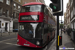 Wrightbus NRM NBFL - LTZ 1370 - LT370 - Leyton Bakers Arms 55 - Stagecoach - London 2017 - Steven Gray - IMG_1183