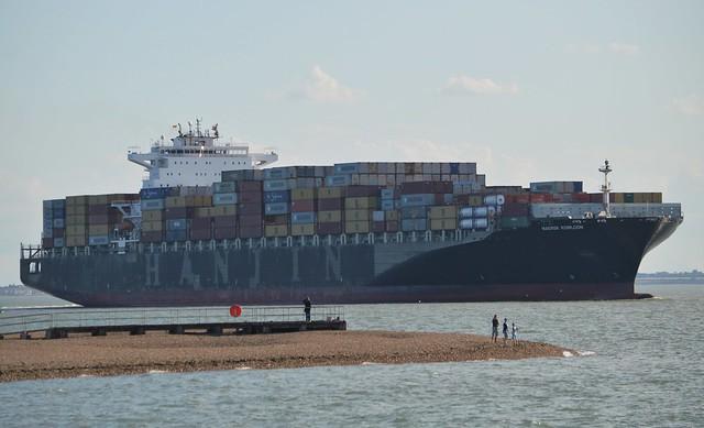 Maersk Kowloon  (4) @ Felixstowe 15-08-17