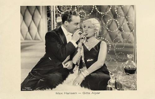 Max Hansen and Gitta Alpar in Die - oder keine (1932)