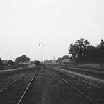 Trittau Staatsbahnhof Blick Richtung Grönwohld 1969
