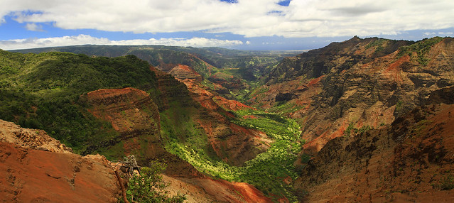 Waimea Canyon Panoramic
