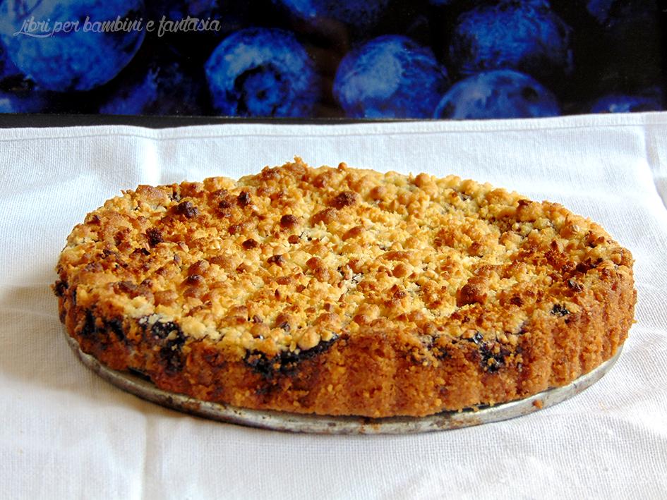 torta sbriciolona ai mirtilli 6