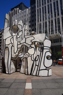259 Dubuffet's Monument With Standing Beast