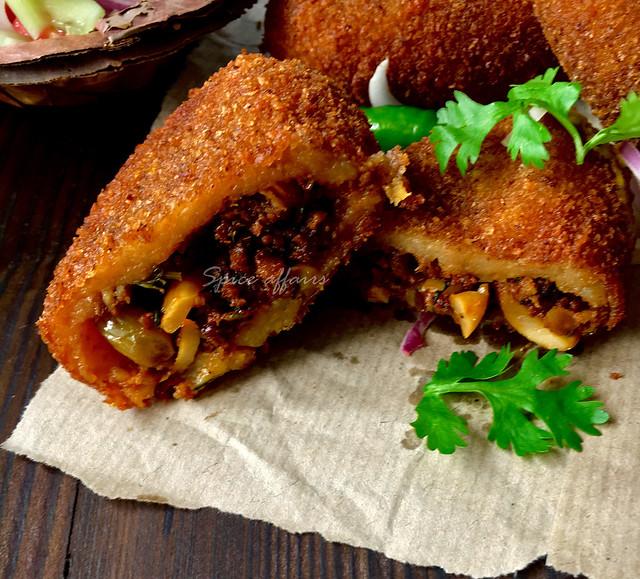 how to make aloo chop bengali style