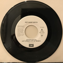 PET SHOP BOYS:OPPORTUNITIES(RECORD SIDE-A)