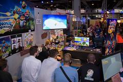 Messebereich von Nova Nukers bei der Gamescom 2017