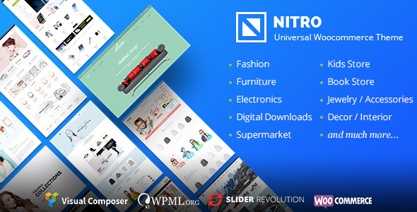 Nitro v1.4.6 – Universal WooCommerce Theme from ecommerce experts