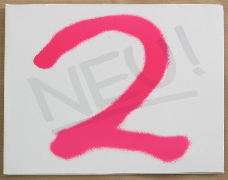 """NEU! 2 White Vinyl Gatefold 12"""" LP VINYL"""