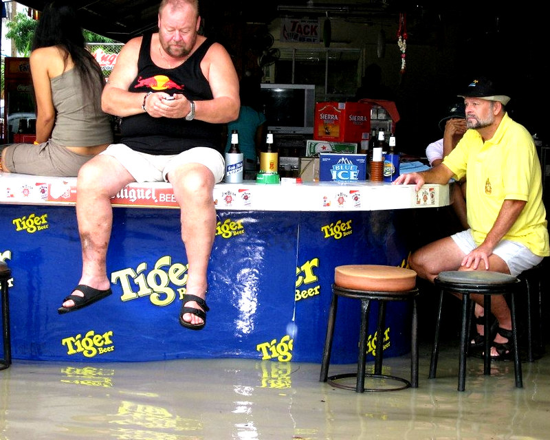 Strange amusing sights Pattaya Beach