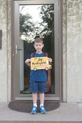 Isaac first day Kindergarten-4