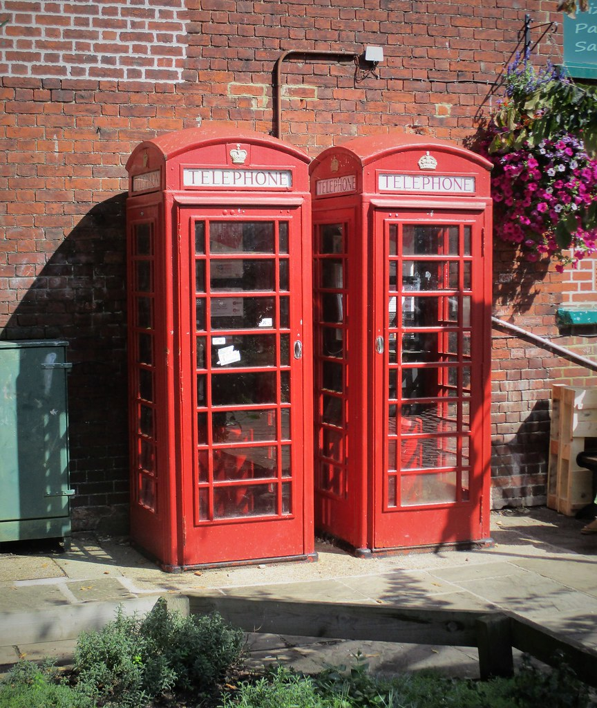 British Red Telephone Kiosks