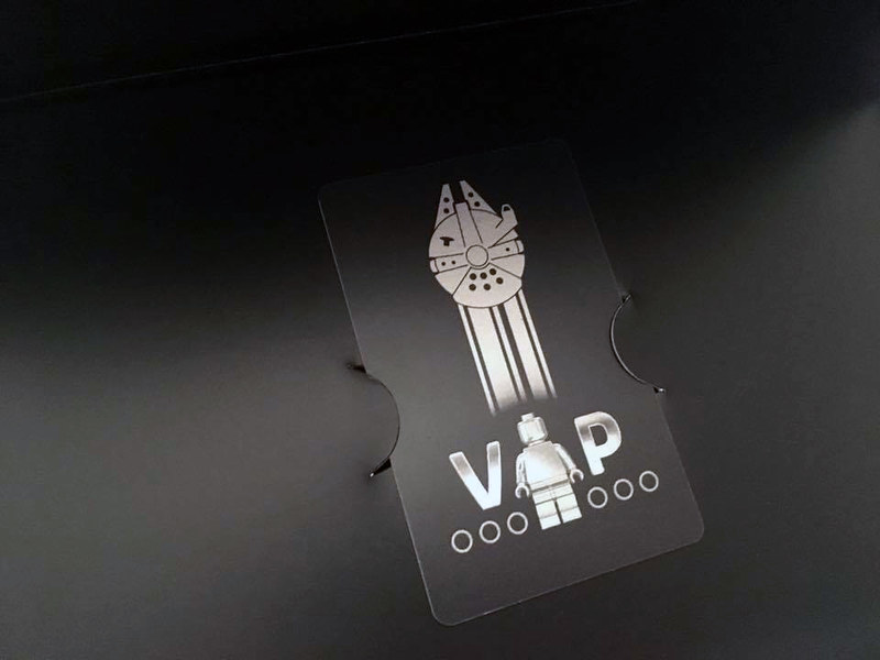 LEGO Star Wars VIP Card