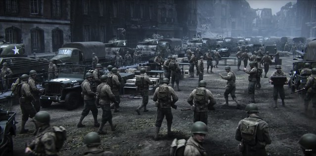 Call of Duty WW2 - US Base Camp
