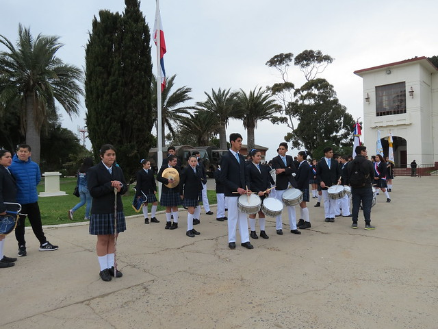 Banda Misericordia en Regimiento Maipo
