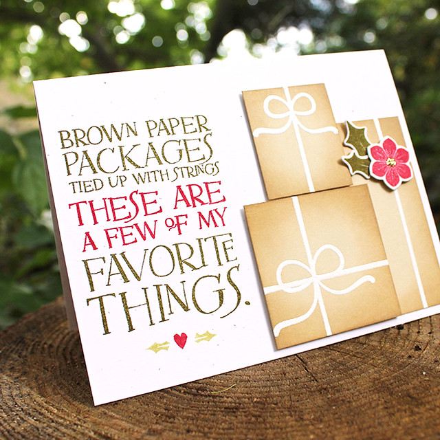 Brown Paper Packages Card 2