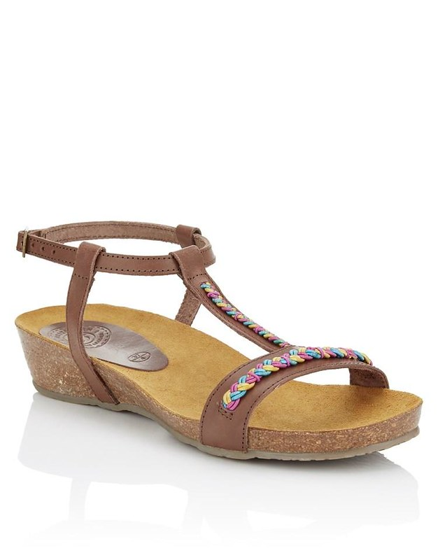 Boho sandal @porcelinasworld
