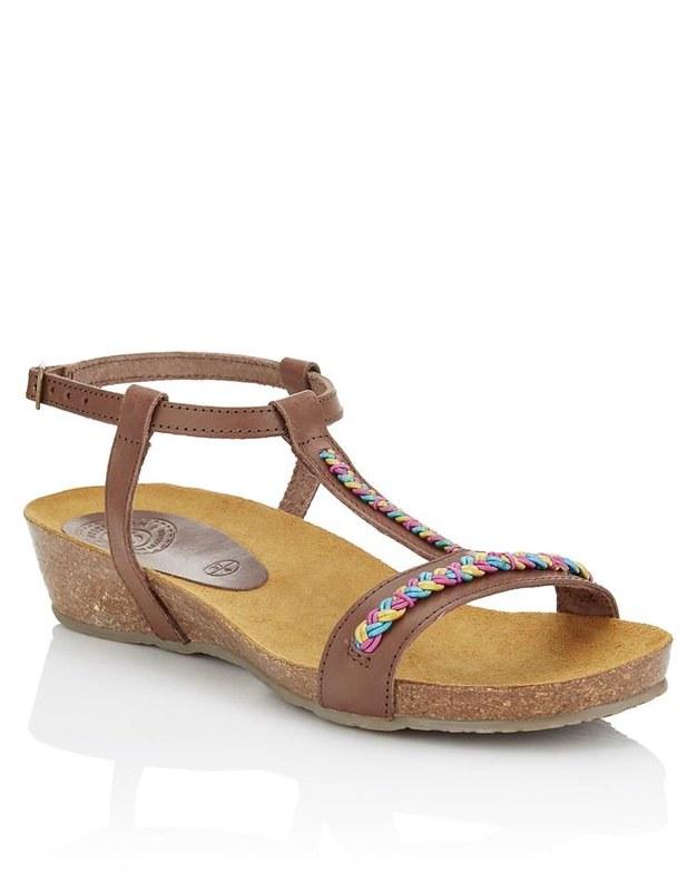 Boho sandal @porcelinasworld