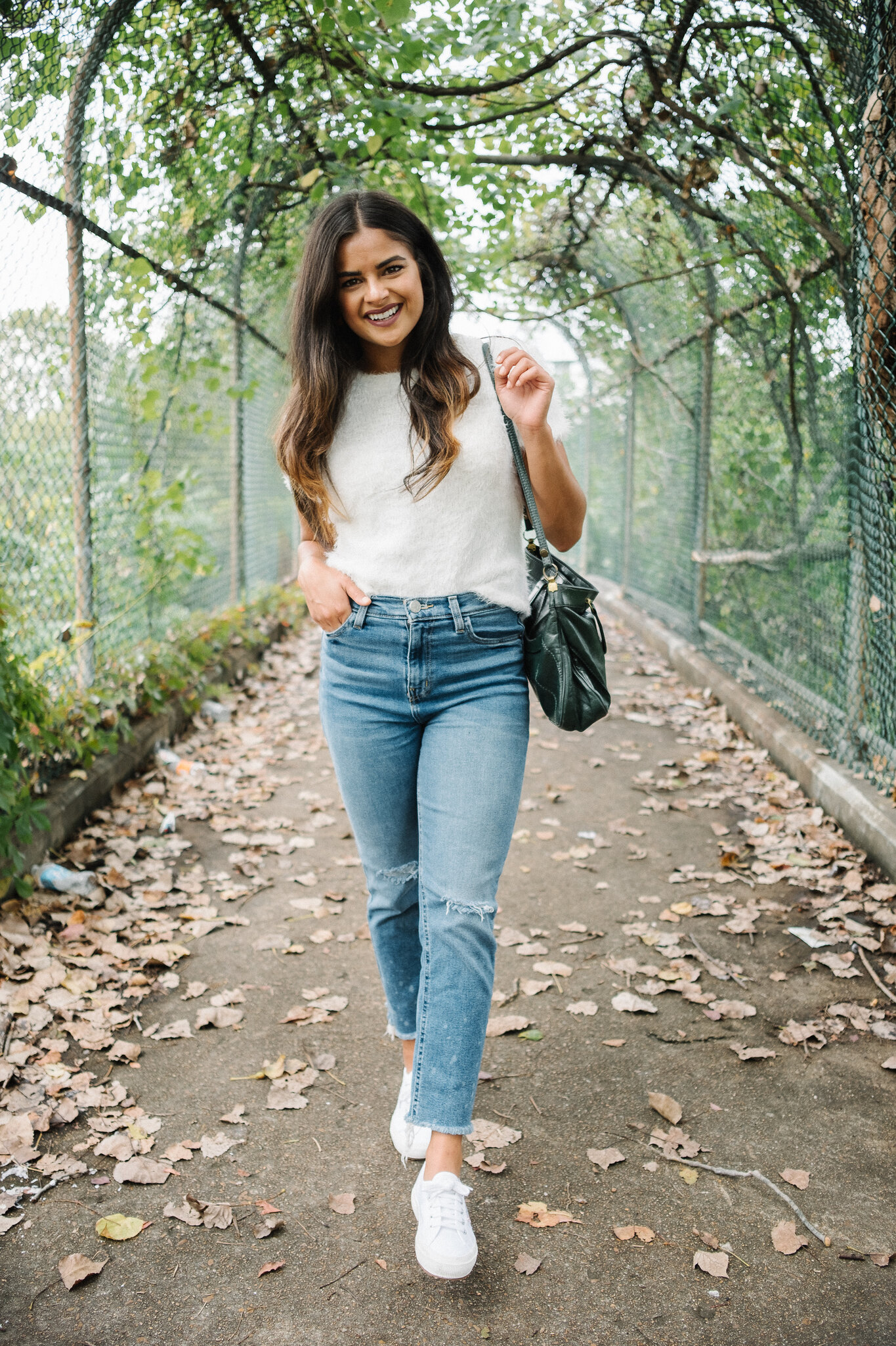 Priya the Blog, Nashville style blog, 3 Go-To Outfit Formulas for Fall, Fall fashion, outfit formulas, Fall outfit ideas, Sweater top, vintage denim jacket, oversized sweater, Zara leggings,