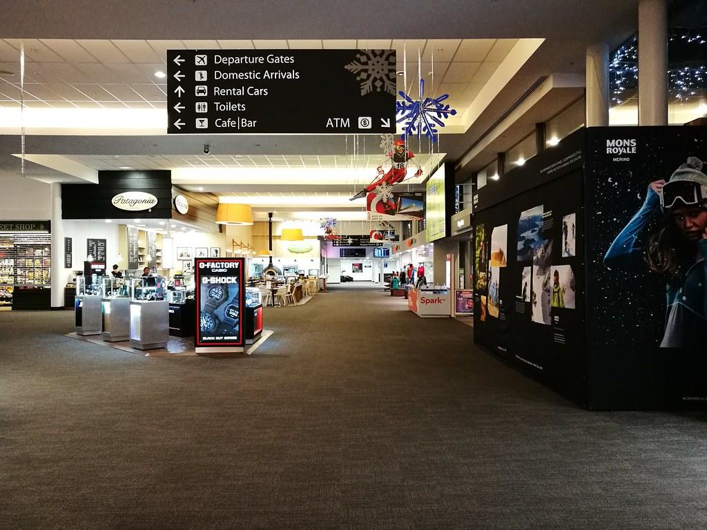 Terminal shops