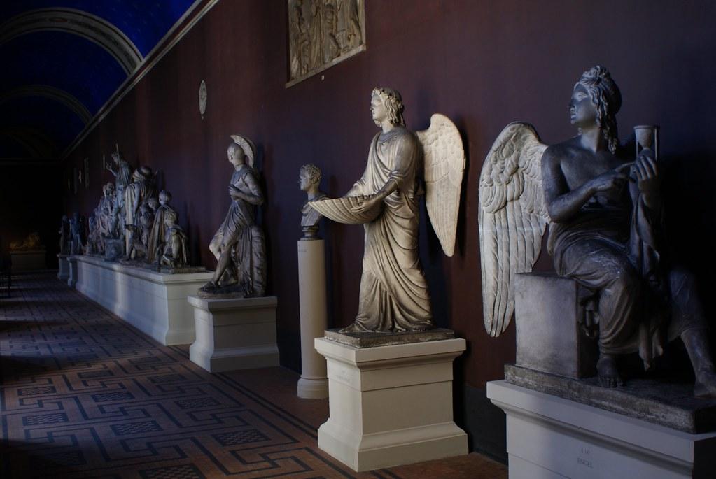Série de sculptures au Thorvaldsens Museum de Copenhague.