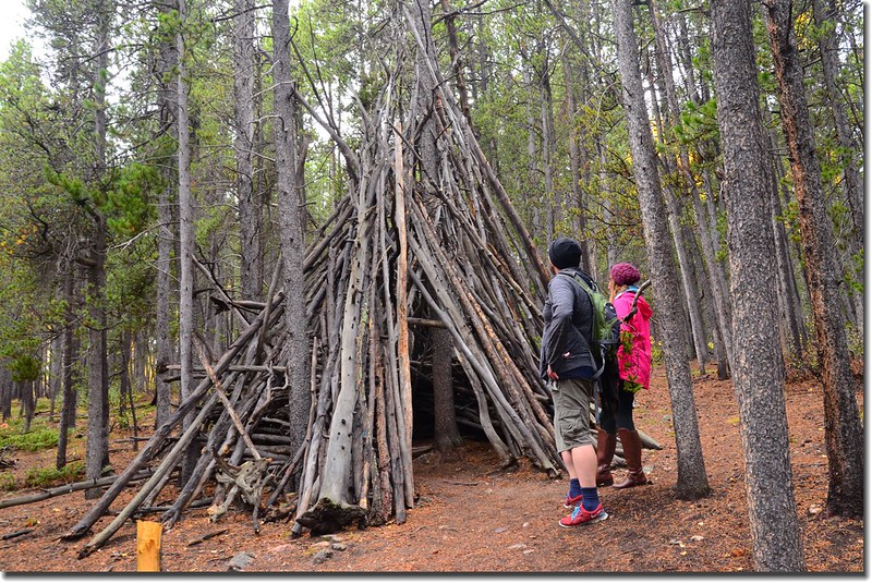 Amazing shelters along the trail  (1)