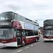 456 - SJ66 LPX, 461 - SK66 LRK - Lothian Buses by StreetwiseFife