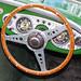 Old Austin 100 Stearing Wheel