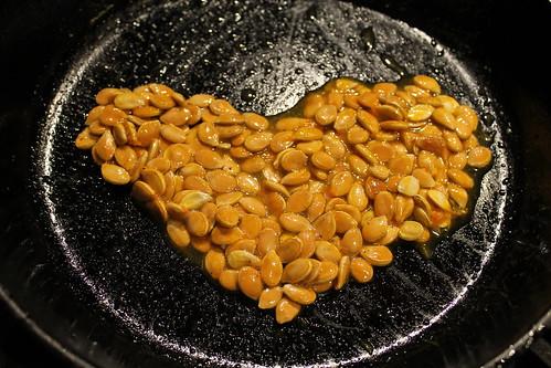 Hubbard squash seeds