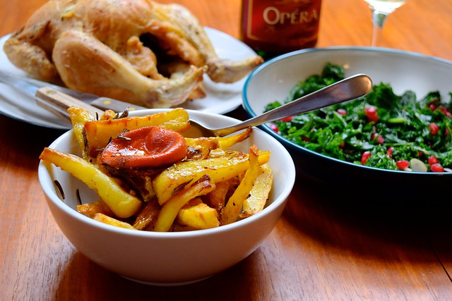 Golden Maple & Walnut Parsnips from Abel & Cole How To Eat Brilliantly Everyday | www.rachelphipps.com @rachelphipps