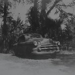 1953 Green Chevrolet_X-ray film