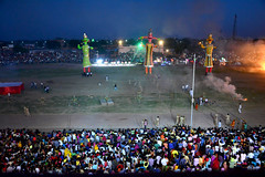 Devotees to celebrate Ravan dahan 2017 at Dr Karni Singh Stadium  in Bikaner city this Dussehra